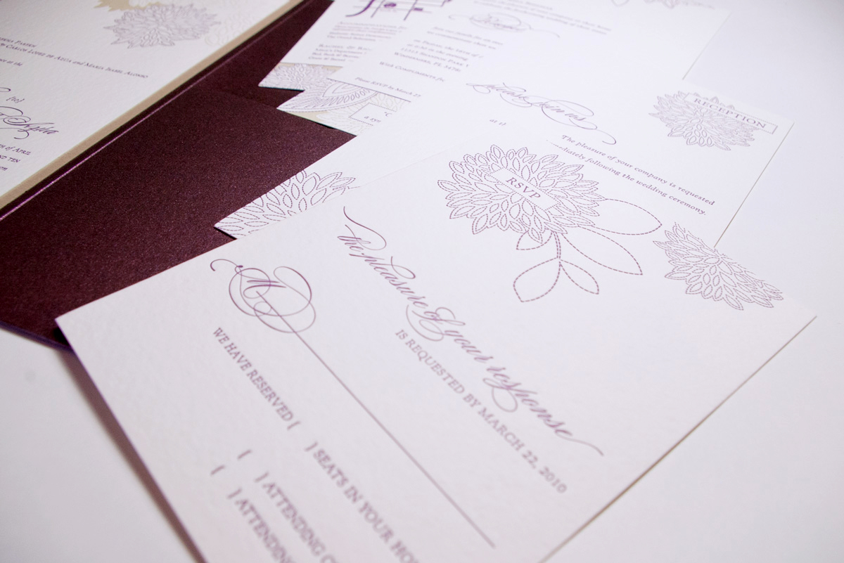 wedding invitation, rsvp, and other event invitations