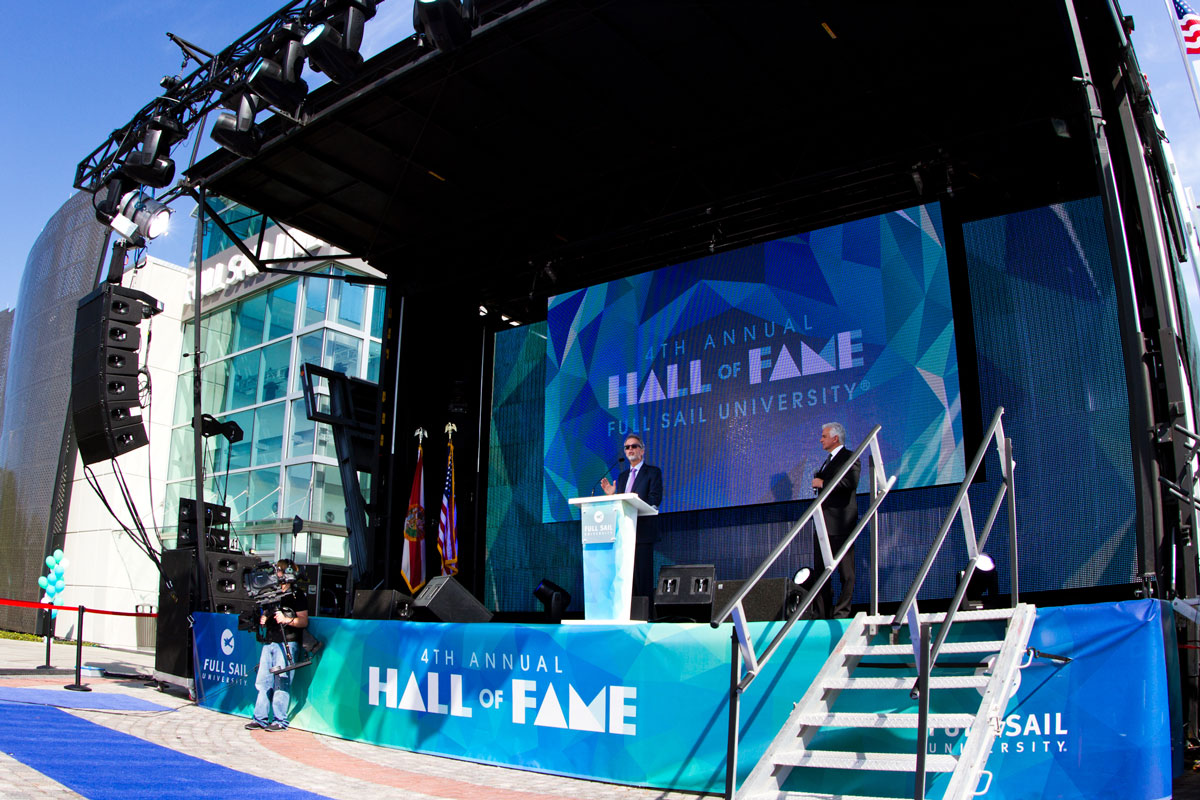 hall of fame stage